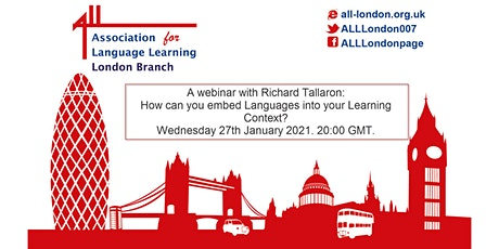 How you can embed Languages into your learning context. tickets