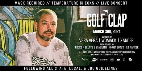 Golf Clap Live at Myth Nightclub | Wednesday 3.3.2021 tickets