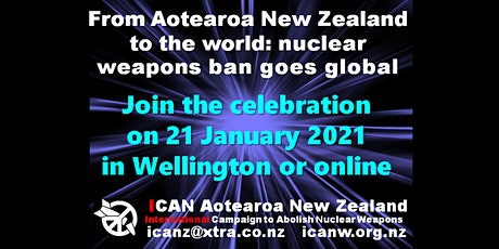 Nuclear ban treaty celebration, online participation tickets