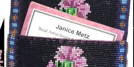 Zoom Even-Count Peyote Beaded Ring Workshop tickets