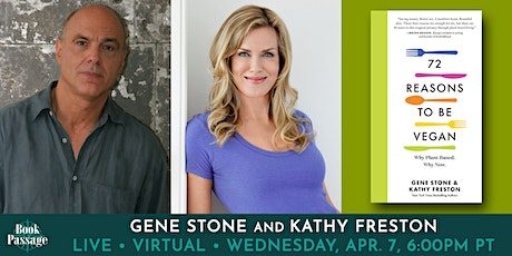 Book Passage Presents: Gene Stone and Kathy Freston tickets