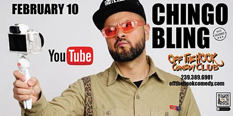 Comedian Chingo Bling live at Off The Hook Comedy Club in Naples, Florida tickets