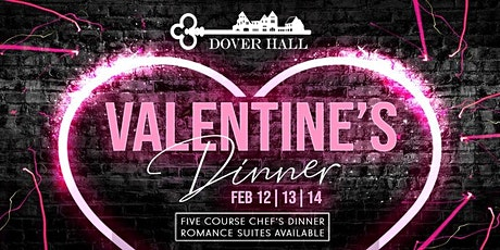 Valentine's Dinner at Dover Hall tickets