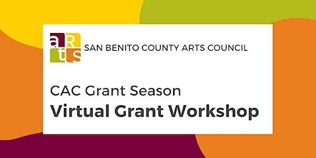 Virtual Grant Workshop tickets