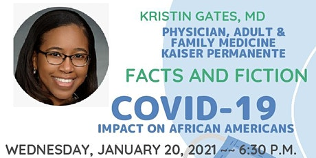 Covid 19 Impact on African Americans - Facts and  Fiction tickets