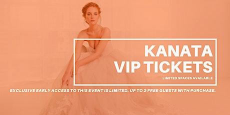 Kanata Pop Up Wedding Dress Sale VIP Early Access billets