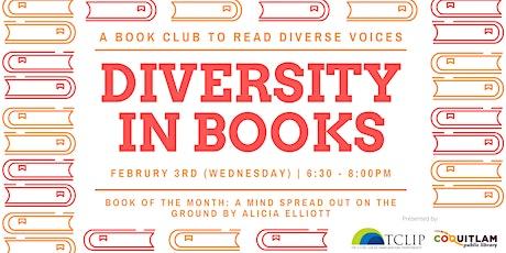 Diversity in Books: Book Club (February) tickets