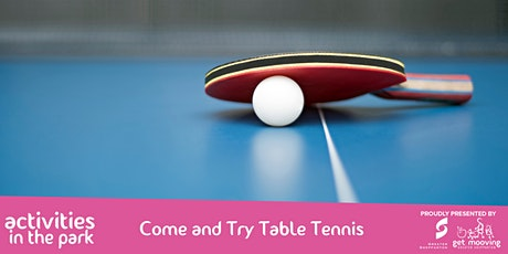 Come and Try Table Tennis tickets