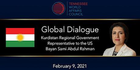 Global Dialogue | Kurdistan Regional Gov Rep Abdul Rahman tickets
