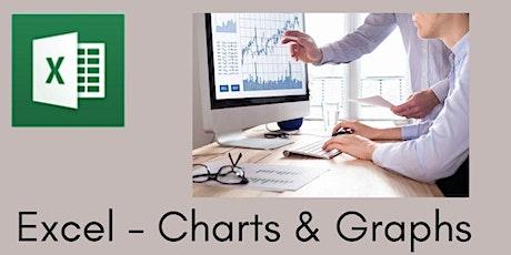 Excel : Charts & Graphs - 3 hr Zoom Workshop tickets