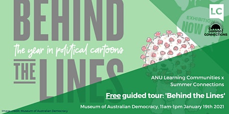 Free guided tour: 'Behind the Lines: 2020' exhibition tickets