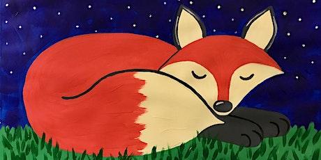 Kids Paint-Along Class: Sleepy Fox tickets