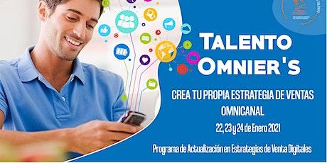 Talento OMNIER'S - Crea tu Propia Estrategia Omnicanal tickets