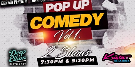 Pop Up Comedy Show Vol.1 tickets