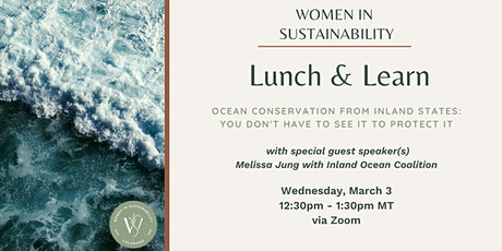 Women in Sustainability - Ocean Conservation from Inland States tickets