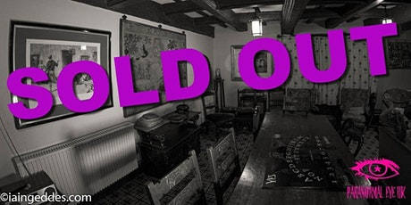 SOLD OUT Graisley Old Hall Ghost hunt Wolverhampton Paranormal Eye UK tickets