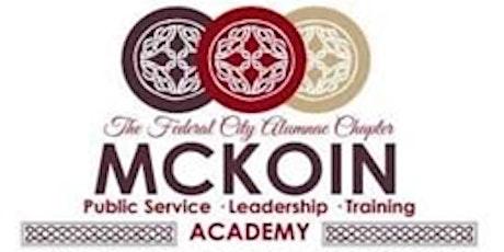 McKoin Public Service Leadership Training Academy tickets