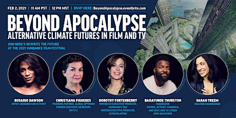 Beyond Apocalypse: Alternative Climate Futures in Film and TV tickets