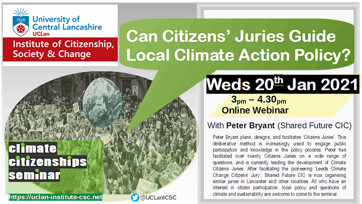 Can Citizens' Juries Guide Local Climate Action Policy? image