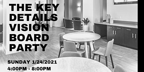 The Key Details Vision Board Party tickets