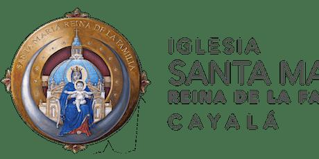 Santa Misa ISMRF del 9 al 16  de Enero 2021 boletos