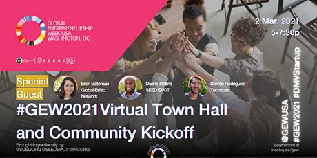 #GEW2021 Virtual Town Hall and Community Kickoff tickets