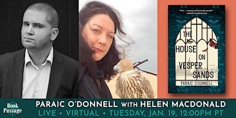 Book Passage Presents: Paraic O'Donnell with Helen MacDonald tickets