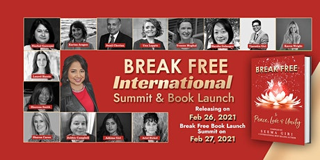 Break Free to To Peace, Love & Unity - International Summit & Book Launch tickets