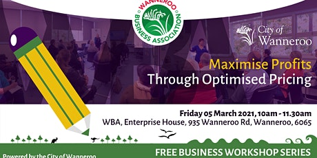 Business Workshop - Maximise Profits Through Optimised Pricing tickets