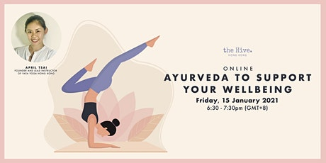 Online: Ayurveda to Support Your Wellbeing tickets