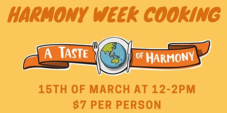 Harmony Week Cooking tickets