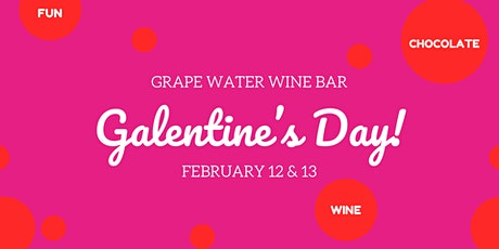 Galentine's Day Wine + Chocolate Tasting tickets