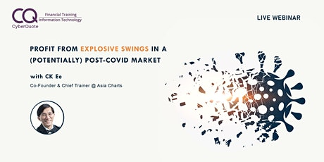 Profit From Explosive Swings In A (Potentially) Post-COVID Market tickets