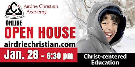 ACA ONLINE Open House - Kindergarten to Grade 12 at 6:30 pm tickets
