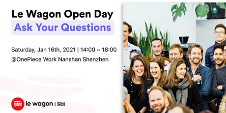 Le Wagon Shenzhen Open Day tickets