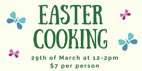 Easter Cooking tickets