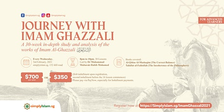 Journey with Imam Ghazzali tickets