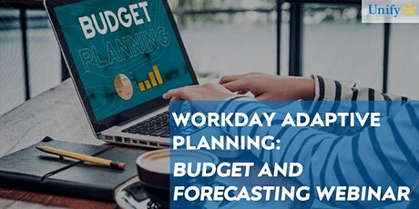 Workday Adaptive Planning: Budget and Forecasting Webinar tickets