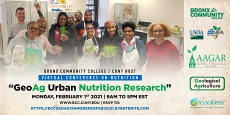 Bronx Community College Conference on GeoAg Urban Nutrition Research tickets