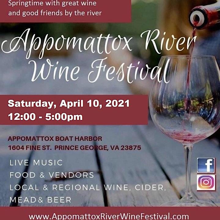 Appomattox River Wine Festival image