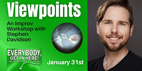 Viewpoints with Stephen Davidson tickets