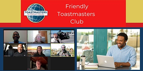Friendly Toastmasters Club Meeting tickets