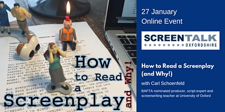 How to read a Screenplay tickets