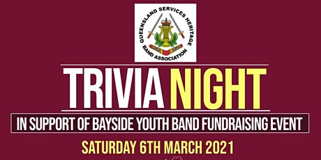 Trivia Night in support of Bayside Youth Band Fundraising Event tickets