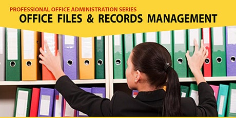 Live Seminar: Office Files & Records Management tickets