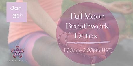 Full Moon Breathwork Detox tickets