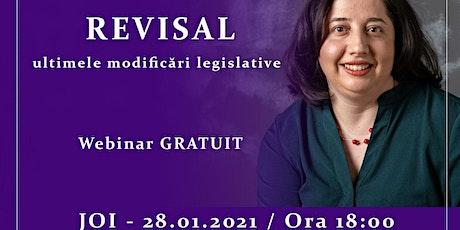 Revisal - ultimele modificări legislative tickets