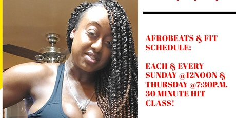 AFROBEAT-FITNESS - START THE YEAR OFF RIGHT! tickets