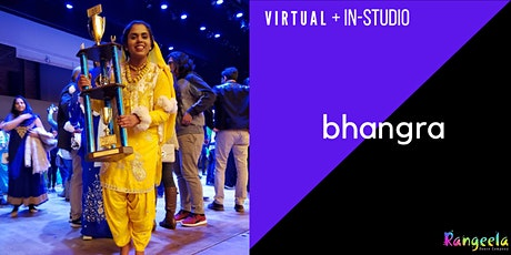 IN-STUDIO & VIRTUAL Bhangra Workshop with Sowmya tickets