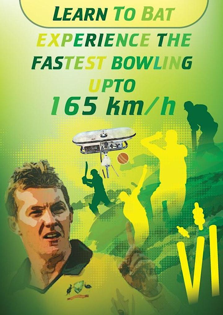 Practice through Cricket Bowling Machine image